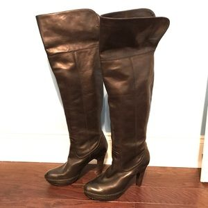 Frye Anna Cuff Pull On Boots